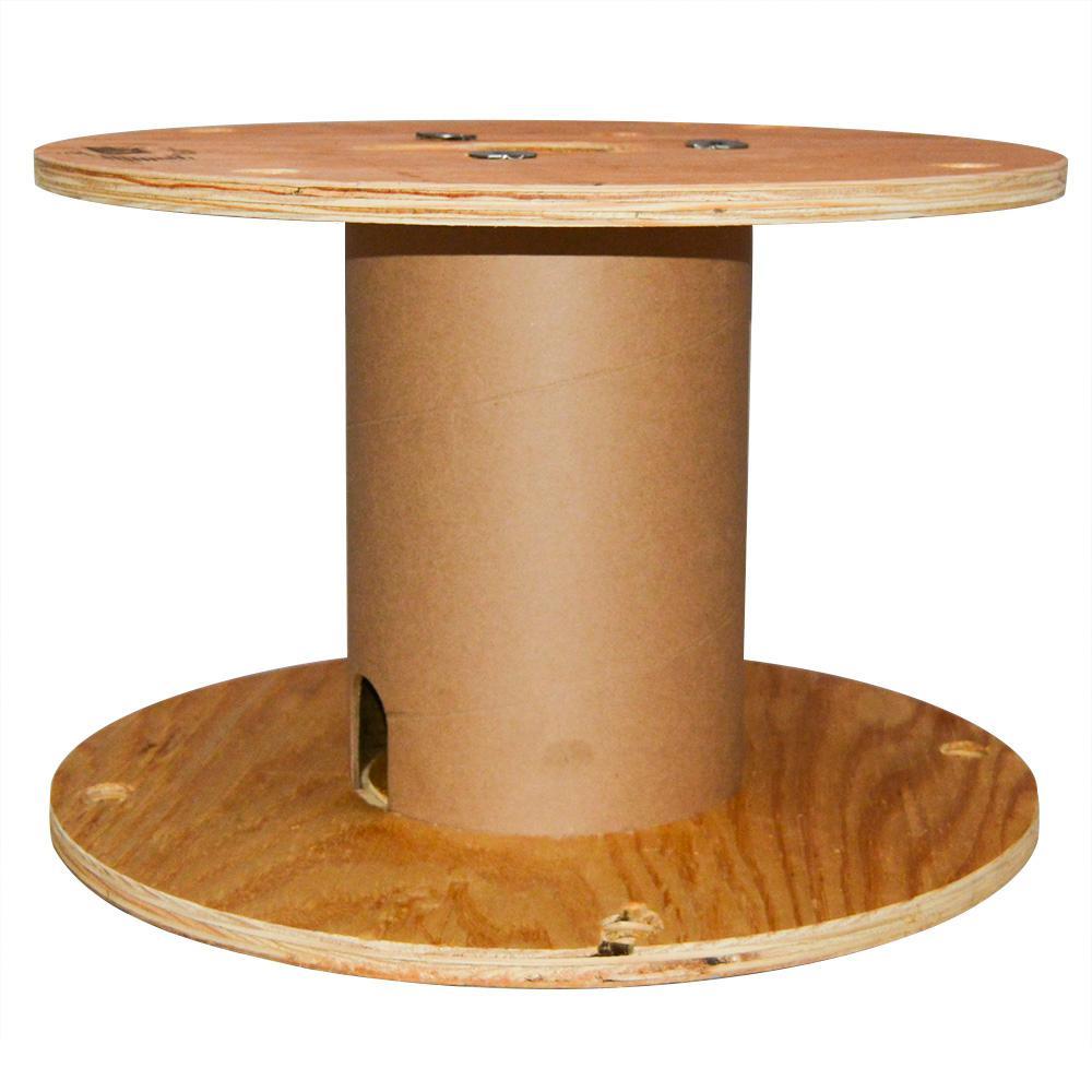 19.75L x 19.75W x 13.5H N3-RPF Plywood Reel with Fiber Drum
