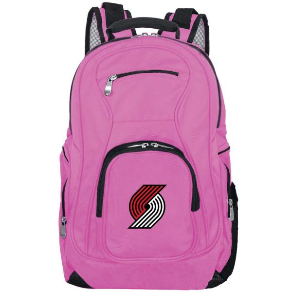 d0fb8182e8e Denco NBA Portland Trailblazers 19 in. Pink Backpack Laptop ...