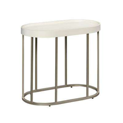 Manhattan Gate Ivory End/Side Table