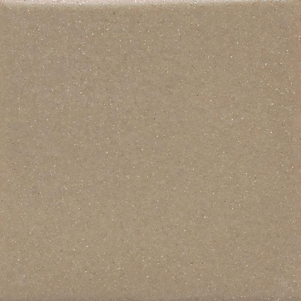 Semi-Gloss Elemental Tan 6 in. x 6 in. Ceramic Wall Tile