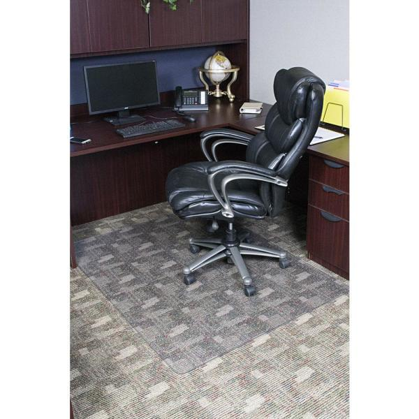 Dimex 46 In X 60 In Clear Rectangle Office Chair Mat For Low And Medium Pile Carpet C532003j The Home Depot