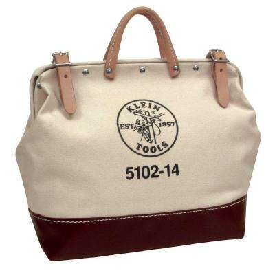 14 in. No. 6 canvas Tool Bag