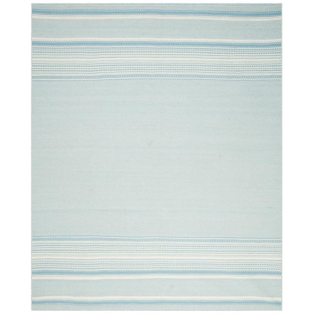 Kilim Light Blue/Ivory 4 ft. x 6 ft. Area Rug