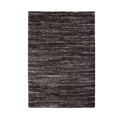 Sherpa Sabita Charcoal/Grey/Ivory 5 ft. x 8 ft. Area Rug