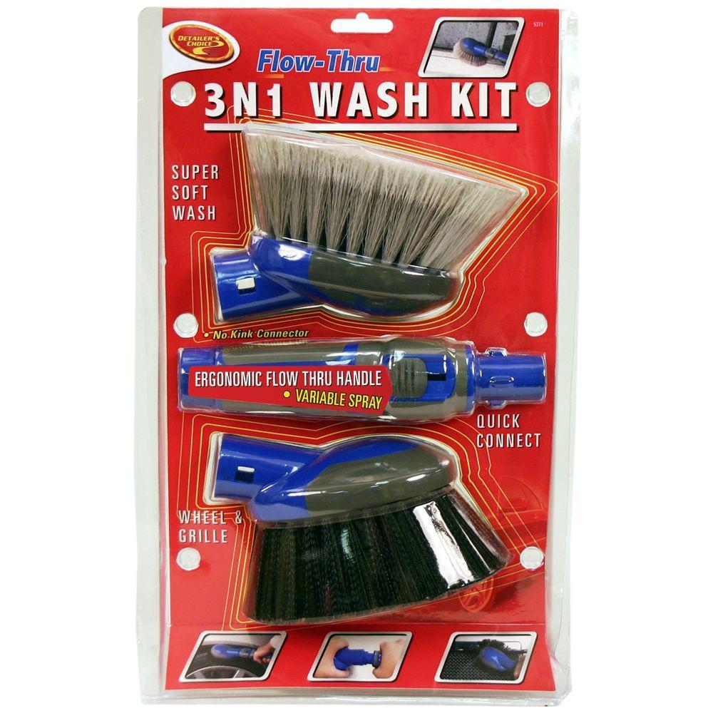 Detailer's Choice 3-in-1 Flow-Thru Wash Kit