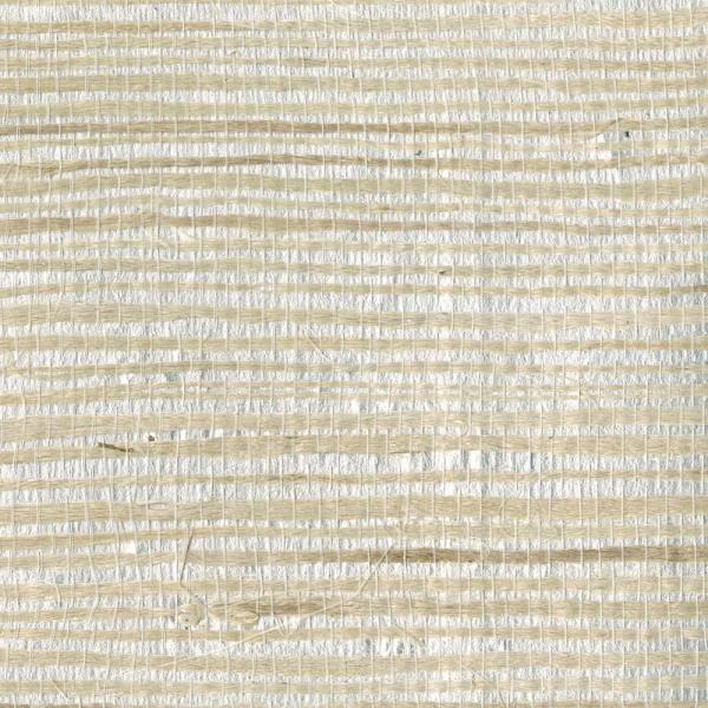 Kenneth James Han Me Silver Foil Grass Wallpaper Sample
