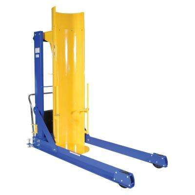 72 in. 1,500 lb. Capacity Portable Hydraulic Drum Dumpers