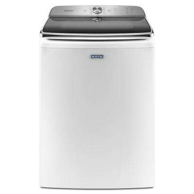 6.0 cu. ft. White Top Load Washing Machine with Extra Large Capacity and Agitator, ENERGY STAR