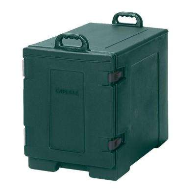 Cateraide End Loading Insulated Pan Carrier in Green