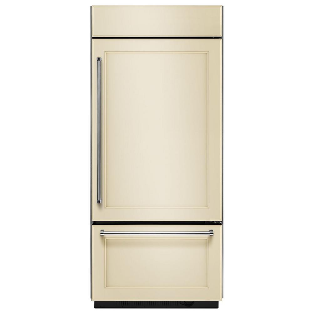 Bottom Mount Refrigerator Built In In Kitchen Design
