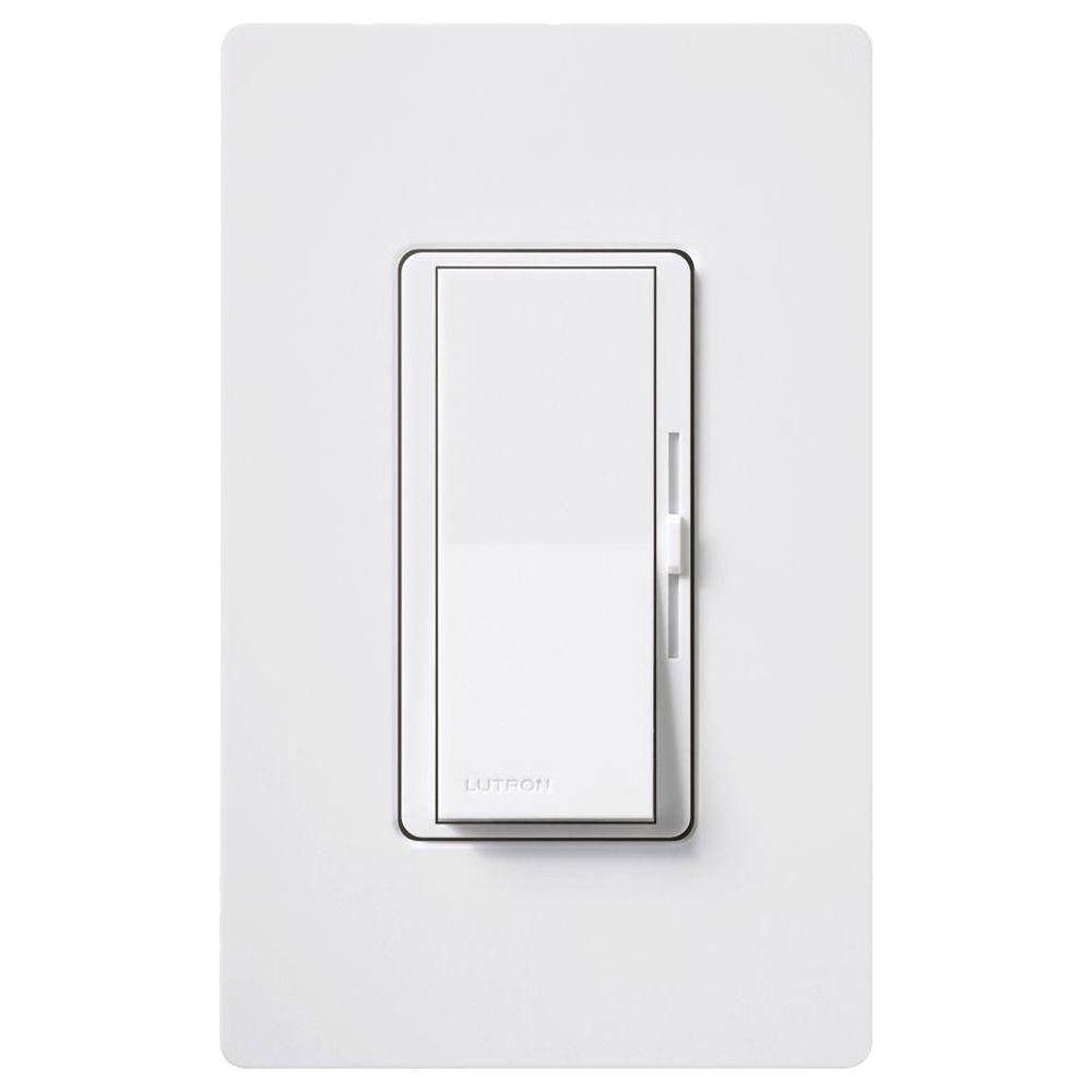 Lutron Diva 450-Watt Dimmer for Magnetic Low Voltage, Single-Pole, White