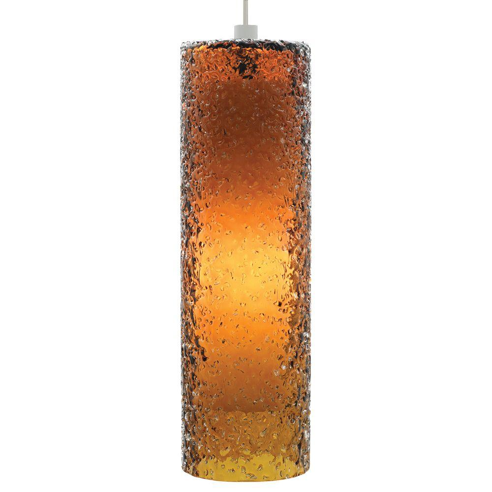 derby linear suspension lbl. Rock Candy 1-Light Satin Nickel Pendant With Dark Amber Cylinder Shade Derby Linear Suspension Lbl