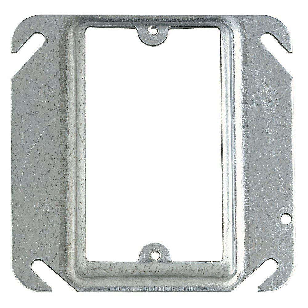 1-Gang Square Mud Ring (Case of 24)