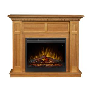 Dimplex Wilson 50 In Freestanding Electric Mantel In Rift