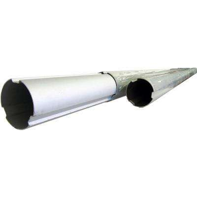 7 ft./2.3 m to 21 ft./6.9 m 3-Piece Aluminum Telescoping Tube for Pool Solar Blanket Reel Systems