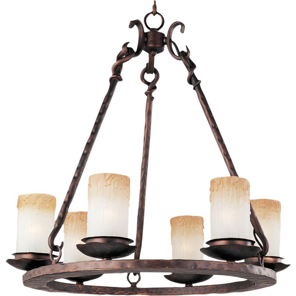 Maxim lighting notre dame 6 light oil rubbed bronze chandelier maxim lighting notre dame 6 light oil rubbed bronze chandelier mozeypictures Images