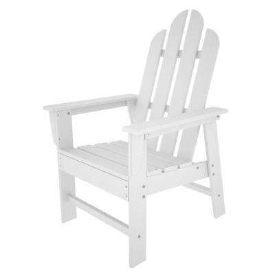 Long Island White Patio Dining Chair
