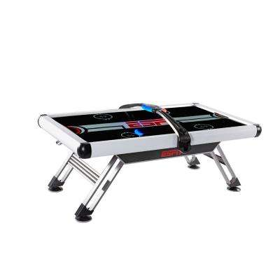 84 in. Air Powered Hockey Table with Overhead Electronic Score System