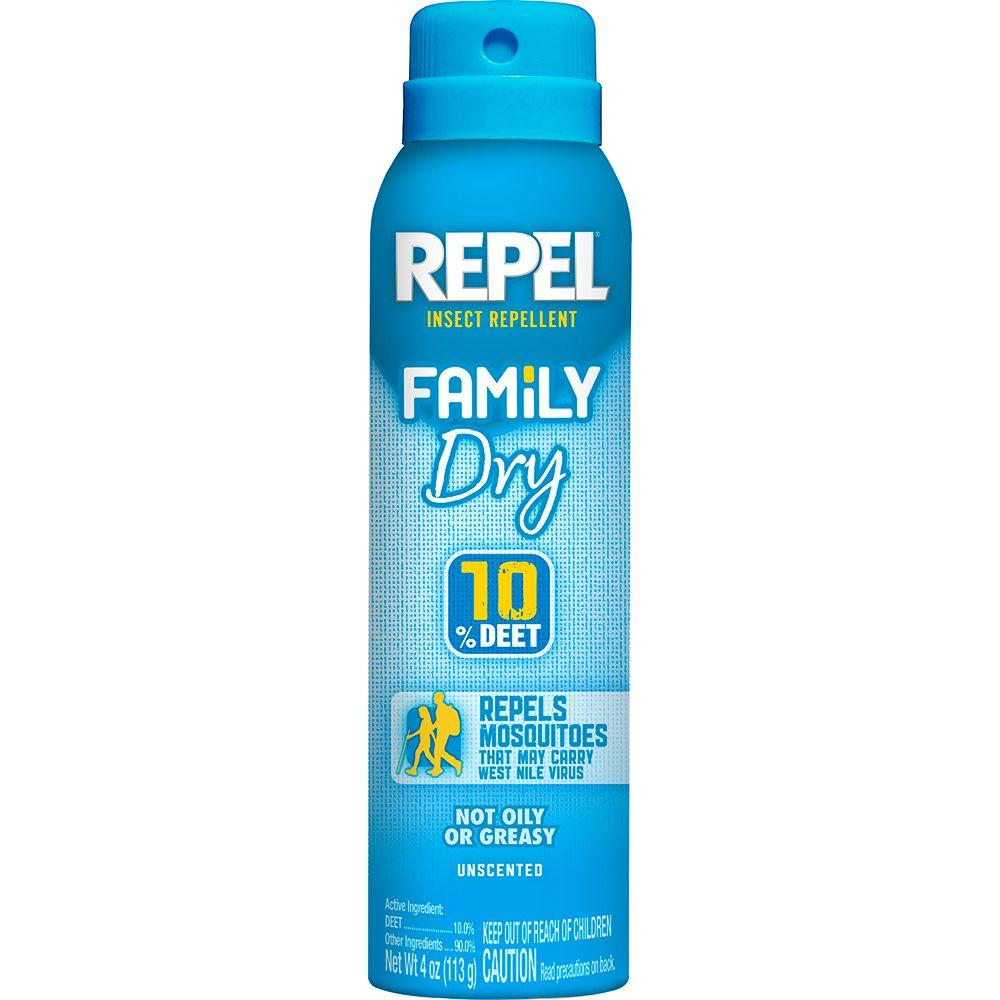 Repel 4 Oz. Aerosol Dry Insect Repellent-HG-94120
