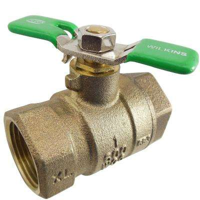 1 in. Lead Free Ball Valve
