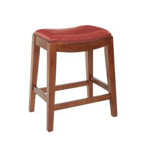 Prime Osp Home Furnishings Metro 24 In Red Cranberry Bonded Gmtry Best Dining Table And Chair Ideas Images Gmtryco