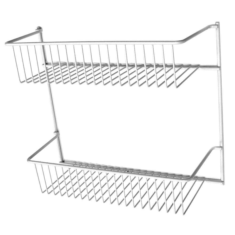 ClosetMaid 12 in. 2-Tier Storage Rack