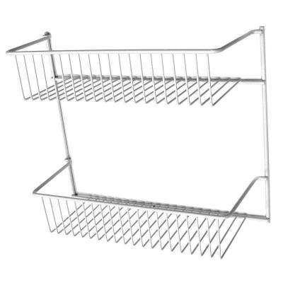 12 in. 2-Tier Storage Rack