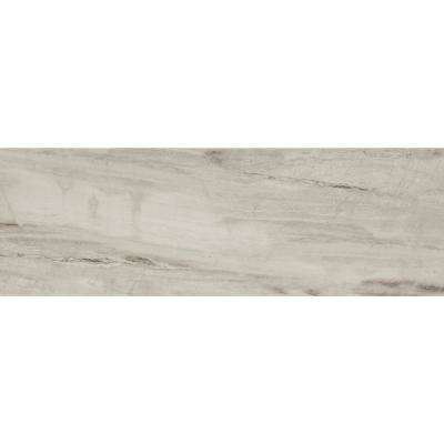 Sanford Shadow Gray Polished 12 in. x 36 in. Color Body Porcelain Floor and Wall Tile (11.4 sq. ft. / case)