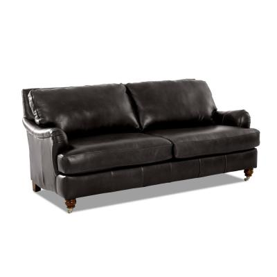 Leather - Sofas & Loveseats - Living Room Furniture - The ...