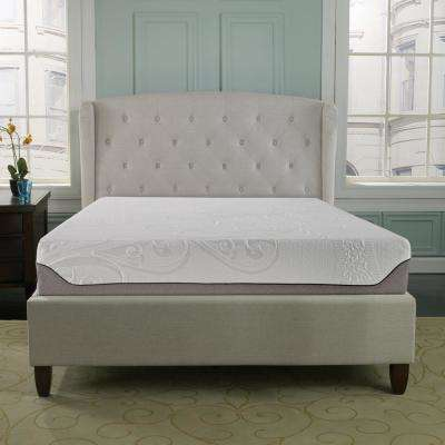 Stay Cool Classic Queen Gel Memory Mattress with Ice Fiber Cover