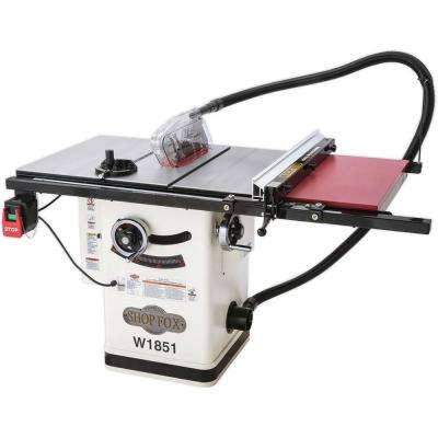 2 HP Hybrid Table Saw with Extension Table