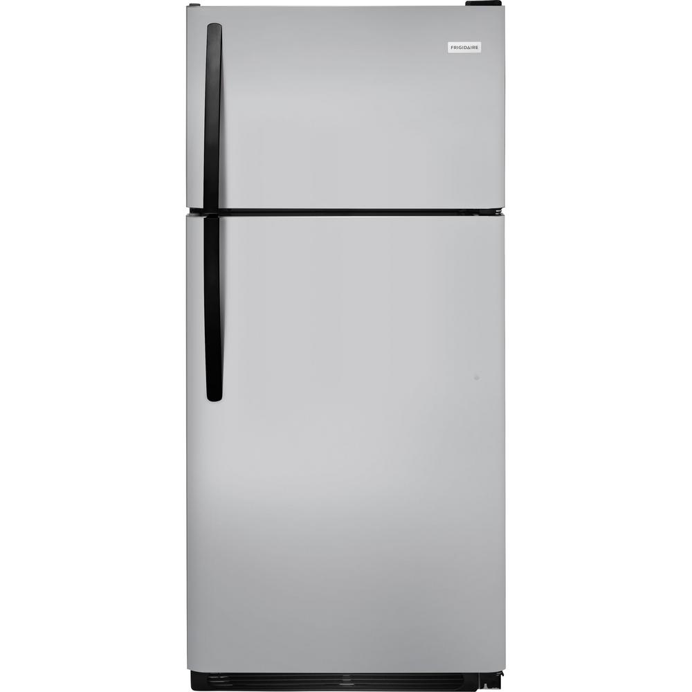18 cu. ft. Top Freezer Refrigerator in Silver Mist ENERGY STAR