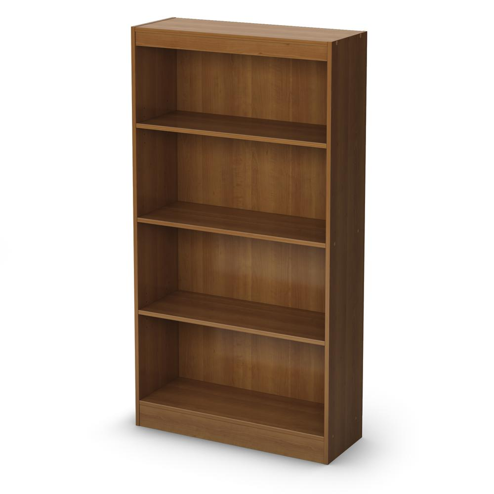 High Quality South Shore Axess 4 Shelf Bookcase In Morgan Cherry Pictures