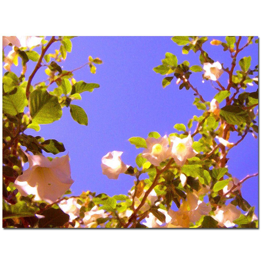 24 in. x 32 in. Flowering Tree II Canvas Art