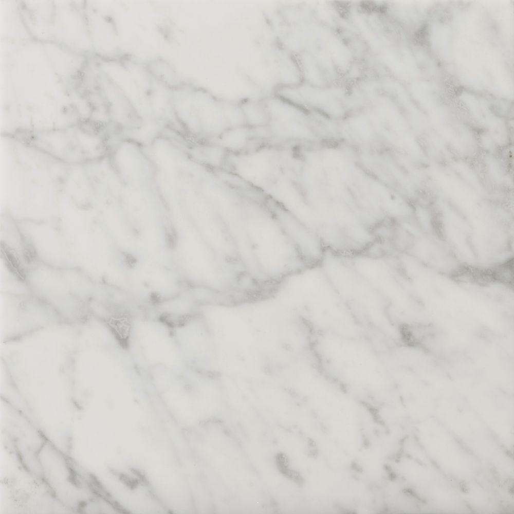 Kitchen Floor Tiles In Pakistan: Emser Bianco Gioia 18 In. X 18 In. Marble Floor And Wall