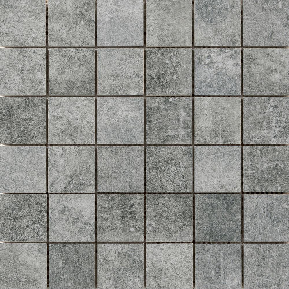 Emser Chiado Midas 12.99 in. x 12.99 in. x 9mm Porcelain Mesh-Mounted Mosaic Tile
