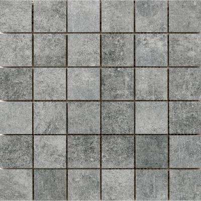 Chiado Midas 12.99 in. x 12.99 in. x 9mm Porcelain Mesh-Mounted Mosaic Tile