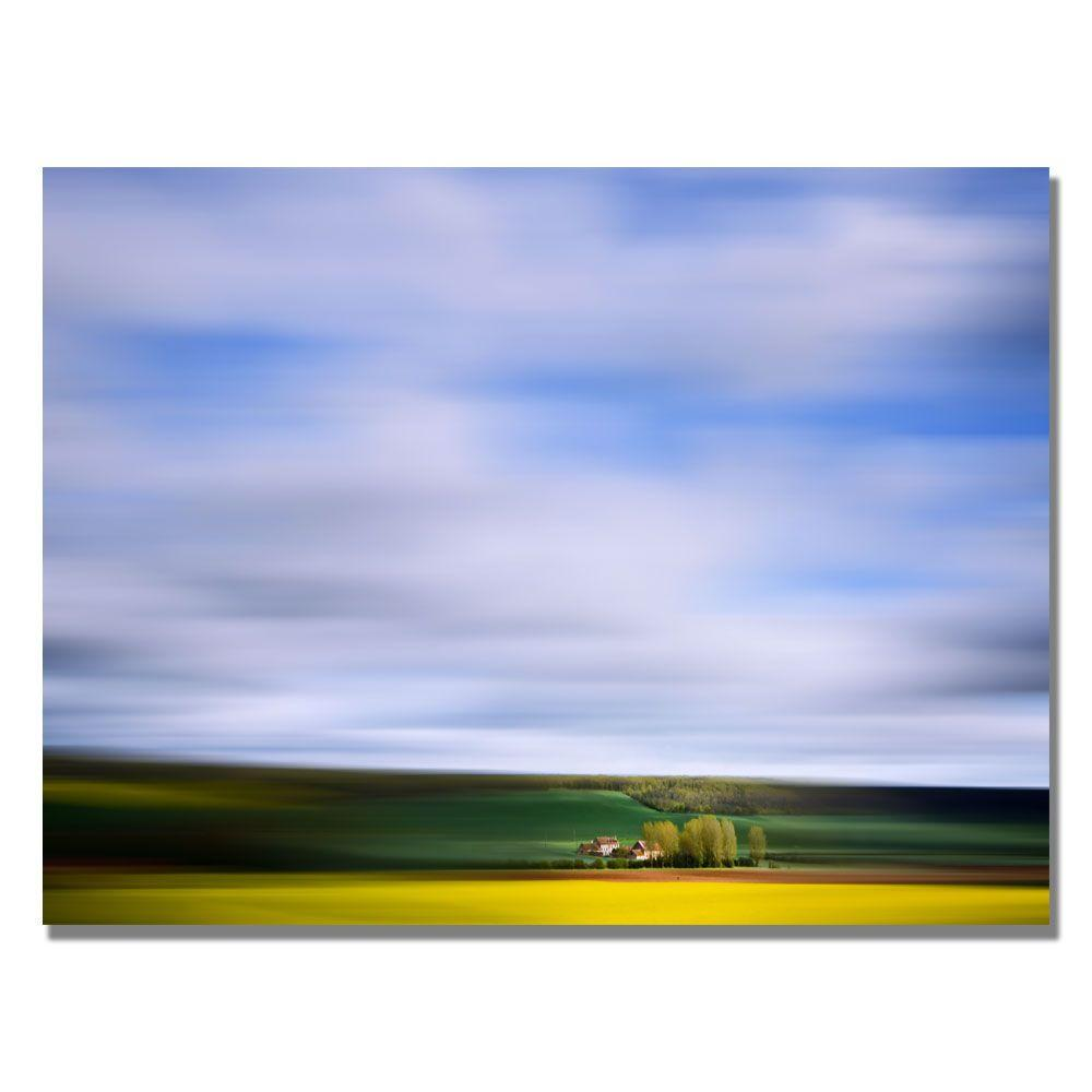 Trademark Fine Art 22 in. x 32 in. Countryside Spot Canvas Art-DISCONTINUED