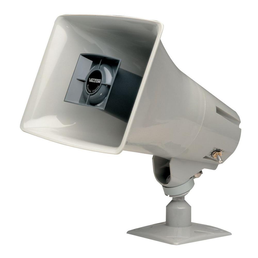 15-Watt High-Efficiency Horn - Gray