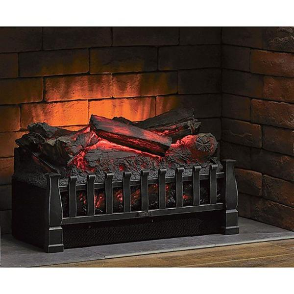 Duraflame 20 In Electric Fireplace Log, Fake Fireplace Heater Insert