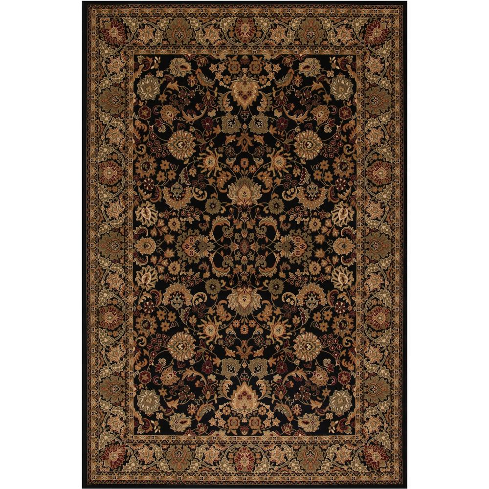 Persian Classics Mahal Black 5 ft. 3 in. x 7 ft.