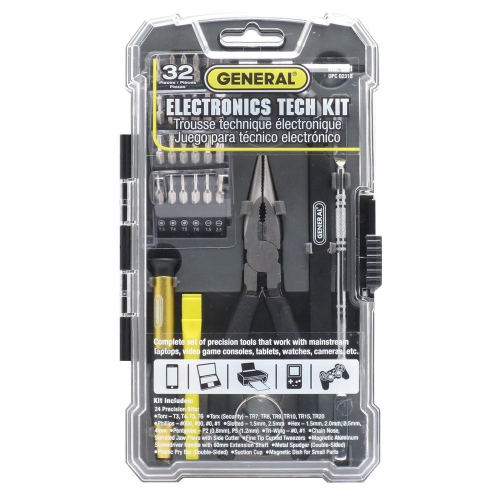 Cell Phone and Electronics Repair Kit (32-Piece)