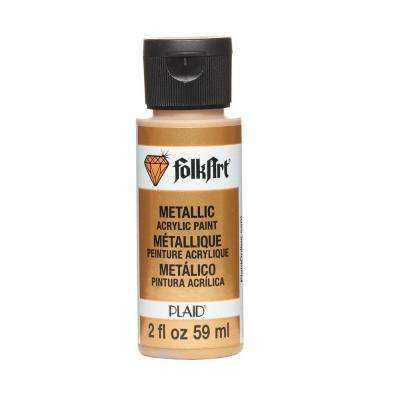 2 oz. Royal Gold Metallic Craft Paint