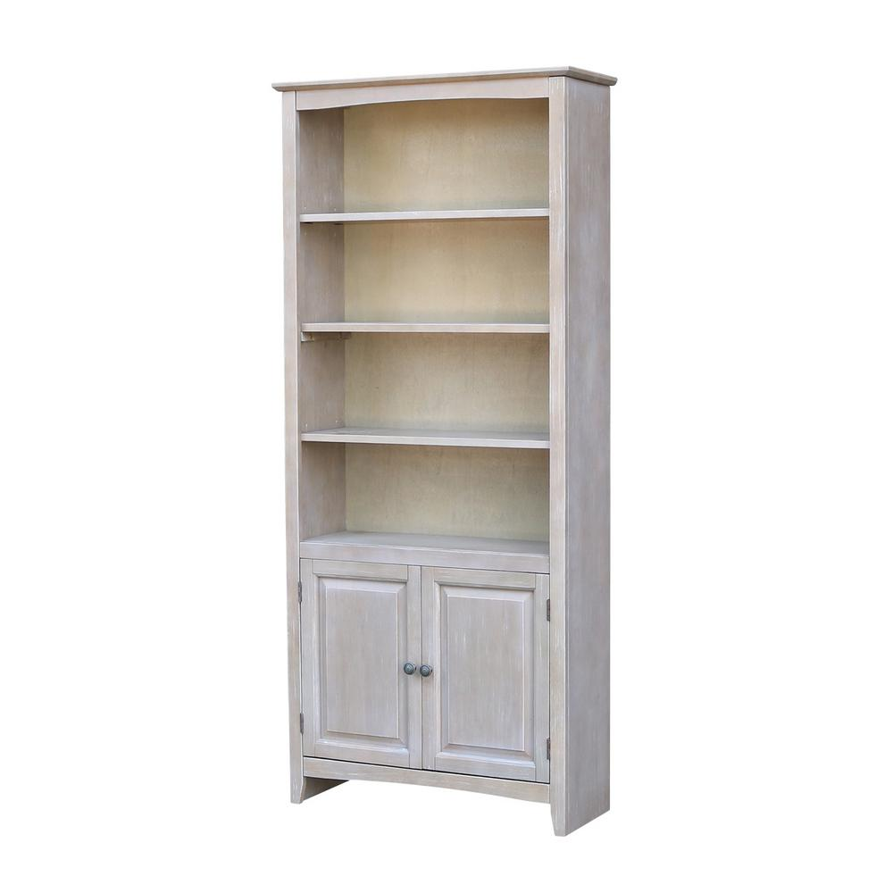 This Review Is From:Weathered Gray Shaker Bookcase With Doors