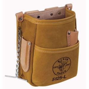 5-Pocket Tool Pouch - Leather