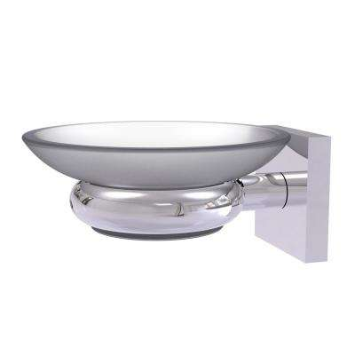 Montero Collection Wall Mounted Soap Dish in Polished Chrome