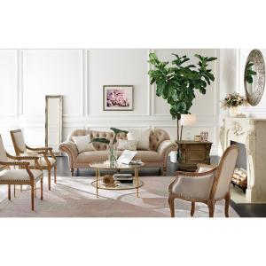 Internet 206798866 7 Home Decorators Collection Arden Dark Beige Linen Sofa