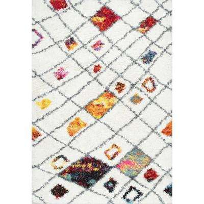 Margaretta Shaggy Multi 8 ft. x 10 ft. Area Rug