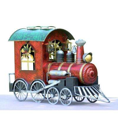 Christmas Train with Cart - Hobbies - Christmas Yard Decorations - Outdoor Christmas Decorations