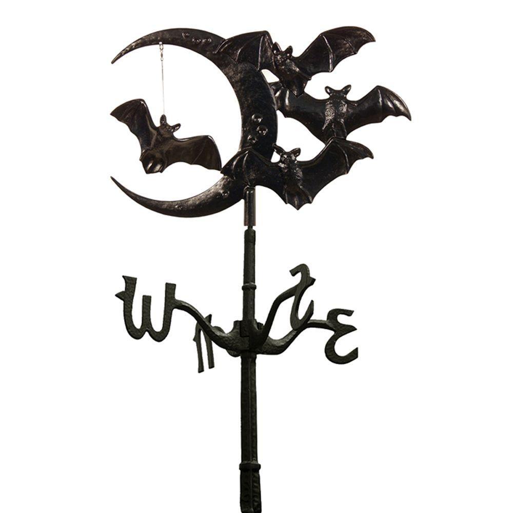 Whitehall Products Black Halloween Bat Rooftop Weathervane